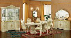 JualSet Kursi Meja Makan Mewah Klasik Eropa Style Set Kursi Meja Makan…