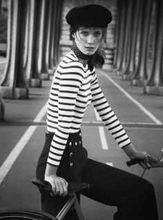 French Lesson   Vogue Australia    Drake Burnett is  photographed  by Will Davidson and Jill Davison among the Parisian cityscape. #Drake Burnett #FrenchStyle
