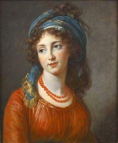 It's About Time: Elisabeth Vigée- Lebrun, Portrait d' Aglaé de Gramont, Duchesse de Guiche, 1794