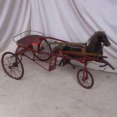Circa 1890 - Dandy Dan Pedal Horse