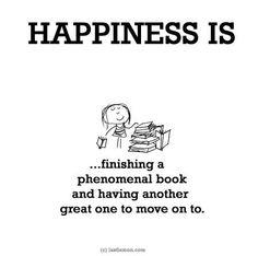 Boeken lezen is fijn
