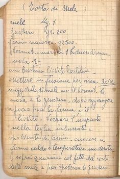 Click to close image, click and drag to move. Use arrow keys for next and previous. Old Recipes, Vintage Recipes, Cookbook Recipes, Apple Recipes, Sweet Recipes, Italian Desserts, Italian Recipes, Torte Cake, Romanian Food