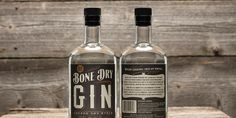 Bone Dry Gin — The Dieline - Branding & Packaging Design