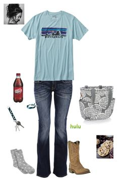 """""""When you find good friends... don't let them go."""" by kansascountrygirl ❤ liked on Polyvore featuring Carlos Miele, Patagonia, Cherokee, Charter Club and John Deere"""