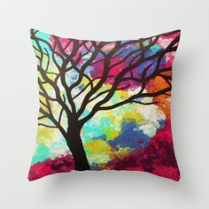 Denton Hill Throw Pillow by Erin Jordan - $20.00