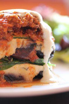 Spinach Portobello Lasagna