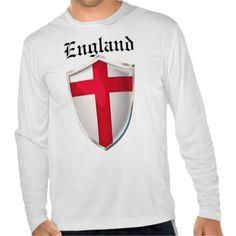 England Shield Tee Shirt