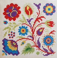 cross stitch flowers | by dutch blue