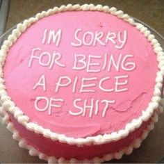 Jokes on you. I love cake and I already knew. Funny Birthday Cakes, Pretty Birthday Cakes, Funny Cake, Pretty Cakes, Cake Meme, Just Cakes, Wholesome Memes, Mood Pics, Aesthetic Food