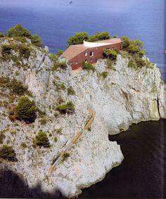 Not PC: Villa Malaparte, Capri - Adalberto Libera and Curzio Malaparte