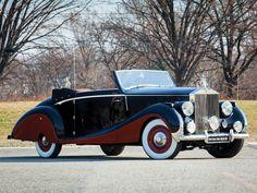 1947 Rolls-Royce Silver Wraith Cabriolet by Franay