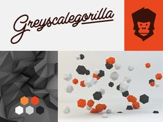 Dribbble - Greyscalegorilla Branding by Danny Jones