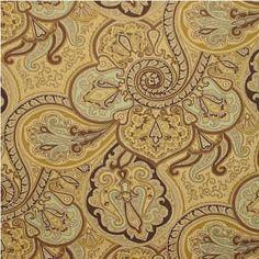 Waverly Fabric Paddock Shawl Spa