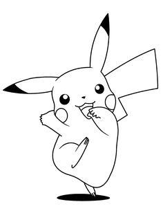 pikachu ausmalbild | easter craft's | pokemon ausmalbilder, pokemon malvorlagen und pokemon zum
