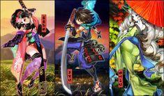 muramasa | ... , Kisuke, and Kongiku, characters from Muramasa: The Demon Blade