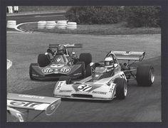 (37) Jochen Mass - Surtees TS15 BDA/Hart - Team Surtees FINA - (24) Hans-Joachim Stuck Jr - March 732 BMW - STP March Engineering - XXI Grand Prix de Rouen 1973 - European F2 Championship, Round 9