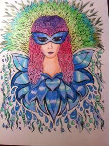 Kreativ-Blog von Ke-Si: Lady Carneval