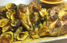 Garlic Roasted Lemon Chicken  @Gina Gab Solórzano Iverson linguist