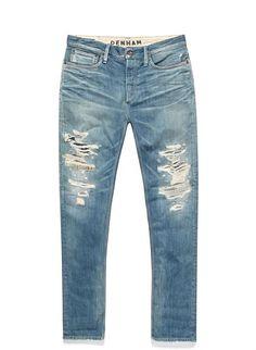 razor-slim-fit-4tr - Denim - Shop man - DENHAM the Jeanmaker