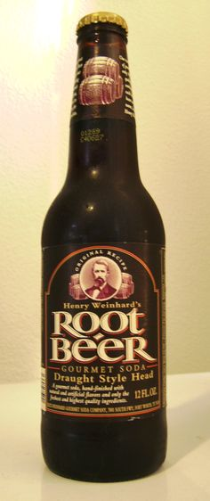 Amazingly good stuff! Henry Weinhard's Root Beer, Gourmet Soda, Draught Style Head  #RootBeer