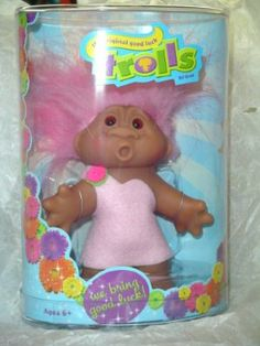 """Good Luck Lifestyle Theme Trolls 5"""" - Assorted by PA Distribution (Play Along Toys). $14.95"""
