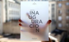 Invite to inauguration of Buenos Aires Grand Hotel | designed by BANDO