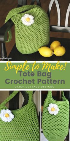 You're going to love this crochet market bag pattern. This free market tote crochet pattern is a beautiful bag with two different sizes. This easy crochet pattern is a great addition to your collection of free crochet patterns for beginners! #crcochetpattern #freecrochetpattern #easycrochetpattern #markettotecrochetpattern Crochet Market Bag, Crochet Tote, Diy Crochet, Crochet Ideas, Crochet Projects, Crochet Tutorials, Crochet Patterns For Beginners, Crochet Blanket Patterns, Free Market