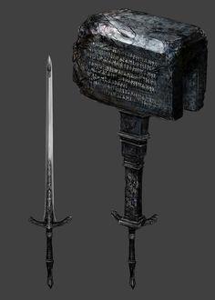 Kirkhammer from Bloodborne