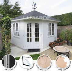 Lugarde Prima Fifth Avenue modern tuinhuisje / blokhut Outdoor Living, Shed, Outdoor Structures, Modern, Outdoor Life, Trendy Tree, The Great Outdoors, Outdoors, Sheds