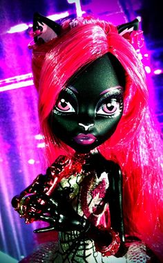 """Catty Noir"" new Monster High doll."