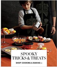 Avon Halloween Cooking and Baking