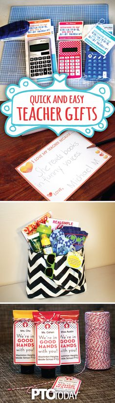 Need a Teacher Appreciation idea? Here are 9 quick and easy ones!
