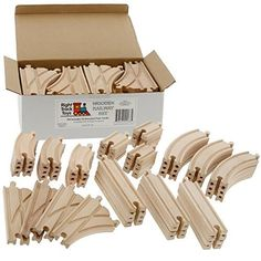 Wooden Train Track 52 Piece Pack - 100% Compatible with All Major Brands including Thomas Wooden Railway System - By Right Track Toys Right Track Toys http://www.amazon.com/dp/B005AW85YG/ref=cm_sw_r_pi_dp_f-2nwb05GM77K