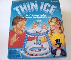 Thin Ice Game by Pressman Toy Corp by MyForgottenTreasures on Etsy, $15.00