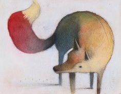 Fox-Dog Looking Back by *SethFitts on deviantART