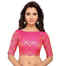 26d52e2aa4d020 Size  42 Care Instructions  DRY CLEAN This is a readymade blouse available  in many sizes Fabric used is rich benaras brocade with golden bootas This  blouse ...