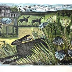 'Yorkshire Hare' by Angela Harding from 'Flights of Memory' her forthcoming show at the Yorkshire Sculpture Park, which runs from 19.11.16 - 26.02.17