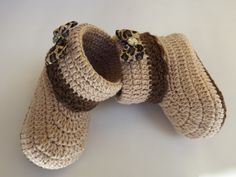 botinha de oncinha | sapatinhos de croche amor perfeito | Elo7