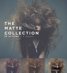 The Matte Collection  — 33 Deluze actions by beto on Creative Market