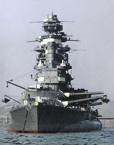 The battleship Mutsu in Kagoshima's Bay   The Imperial Japan…   Flickr