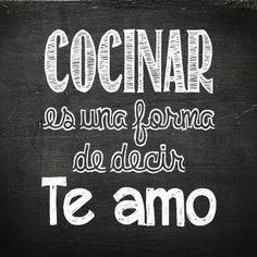 Frases español vida amor mío cocina