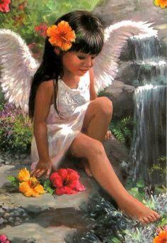 Sweet native american Angel