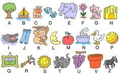 Alfabeto Italiano per Bambini - Bing Immagini