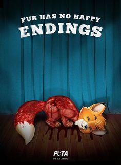 Peta - Fur Has No Happy Endings - Great-Ads