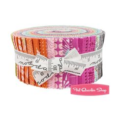 Drenda - Flow Jelly Roll Zen Chic for Moda Fabrics   Fat Quarter Shop