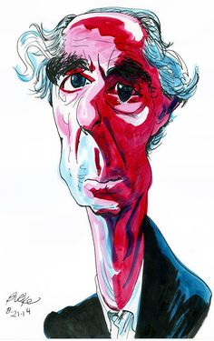Philip Roth by Philip Burke