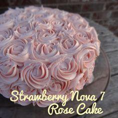 Strawberry Nova 7 Rose Cake from Baked in Nova Scotia