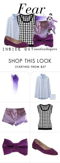 """Fear"" by auntiewhispers ❤ liked on Polyvore featuring Uniqlo, Topshop, Boutique Moschino, Patrizia Pepe, Chloé, disney, fear, disneypixar and insideout"