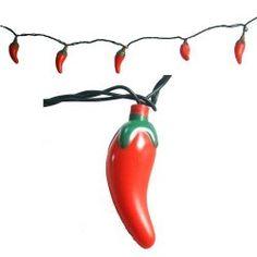 Chili pepper lights!