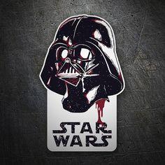 Pegatinas: Darth Vader Galaxy #Star Wars #TeleAdhesivo Darth Vader, Car Tuning, Stickers, Cool Logo, Coasters, Geek Stuff, Star Wars, Entertaining, Draw